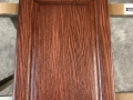Stained Cabinets with Poly