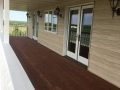 After - Stained Deck - Deck Staining Project