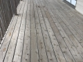 Before - Deck Flooring - Deck Staining Project
