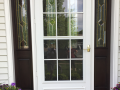 After - Fiberglass front entry system