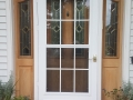 Before - Fiberglass front entry system