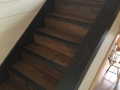 Stained Stair Treads, Risers and Skirtboard