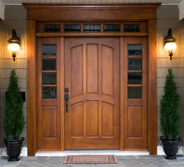 Gel Stain Door Contractor in Bismarck
