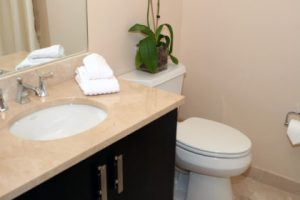 How To Use Light Dark Paint Colors To Make Small Bathrooms Look
